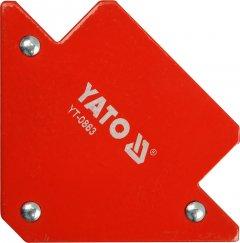Магнитная струбцина для сварки YATO 82 х 120 х 13 мм 11.5 кг (YT-0863)
