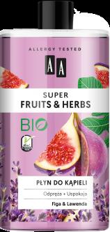 Пена для ванны AA Super Fruits And Herbs инжир и лаванда 750 мл (5900116064932)