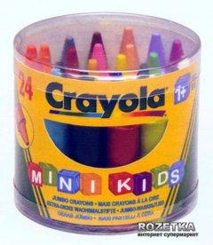 Восковые карандаши Crayola для самых маленьких в бочонке 24 шт (0784) (5010065007840)