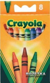 Восковые карандаши Crayola разноцветные стандартные 8 шт (0008) (5010065000087)