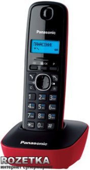 Panasonic KX-TG1611UAR Red