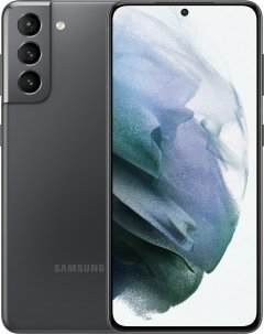 Мобильный телефон Samsung Galaxy S21 8/128GB Phantom Grey (SM-G991BZADSEK)