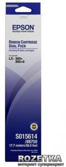Картридж Epson original A4 LX300/ 400/ 800 FX800/ 850/ 870/ 880 Bundle (2шт) (C13S015614BA)