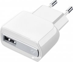 Сетевое зарядное устройство Cellular Line Compact USB iPhone White (ACHUSBCOMPACIPHONE)