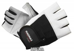 Перчатки для фитнеса MadMax Fitness MFG 444 (M) Белый (8591325002067)