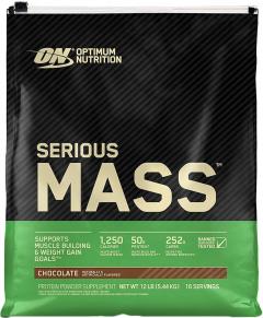 Гейнер Optimum Nutrition Serious Mass 5.45 кг Chocolate (748927023800)