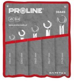 Набор разрезных ключей Proline 5 предметов (10 x 11-17 x 19 мм) CrV (36445)