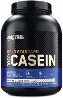 Казеин Optimum Nutrition 100% Casein Protein 1.818 кг Cookies n Cream (748927024289)