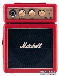 Комбоусилитель Marshall MS-2R-E Red (A000841)