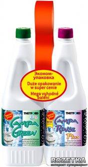 Жидкость Thetford Duopack CampaGreen/Campa Rinse Plus (8710315018073)