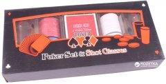 Набор для игры в покер (100фишек, 2рюмки) Duke (PG22100)
