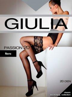 Чулки Giulia Passion 20 Den 1/2 р Nero (4824092609127)