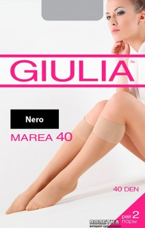 Гольфы Giulia Marea Gambaletto 40 Den 2 пары Nero (4820040120805)