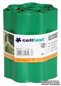 Газонный бордюр Cellfast 20x900 см Зеленый (30-003H)