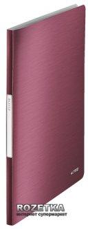 Папка пластиковая Leitz Style А4 40 файлов Красная (39590028)