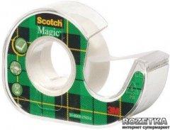 Клейкая лента Scotch Magic в мини-диспенсере 19 мм х 7.5 м Невидимая 1 шт (8-1975)