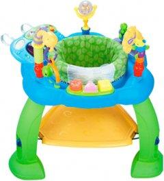 Игровой развивающий центр Hola Toys Музыкальный стульчик Голубой (696-Blue) (6944167169665)