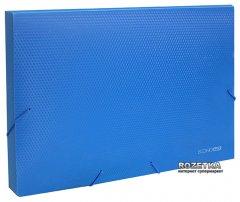 Папка-бокс пластиковя Economix А4 20 мм на резинке Синяя (31401-02)