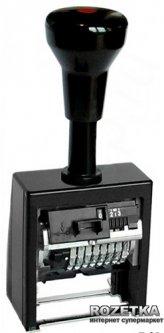 Нумератор автоматический Reiner 5.5 мм 8 символов Черный корпус (В6К/8/5,5 ant)