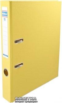 Папка-регистратор Donau Premium А4 50 мм Желтая (3955001PL-11)