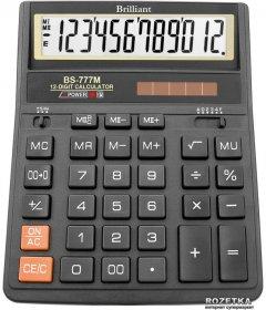 Калькулятор электронный Brilliant 12-разрядный (BS-777M)