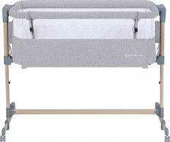 Приставная кроватка-люлька Kinderkraft Neste Air Grey Wood (5902533915477)