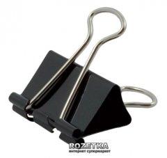 Биндеры для бумаги Economix 51 мм 12 шт Черные (Е41008)