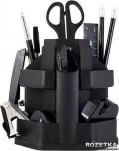 Настольный набор Buromax 16 предметов Черный (BM.6302-01)
