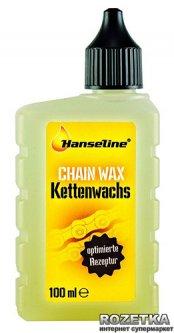 Смазка парафиновая Hanseline Chain Wax для цепи 100 мл (300540)