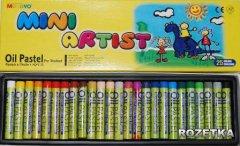 Пастель масляная MUNGYO Mini MOPS-25 25 цветов (8804819014041)