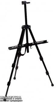 Мольберт-тренога D.K.Art & Craft 125 х 85 х 157 см алюминиевый Черный (6926586610409)