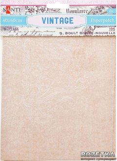 Бумага для декупажа Santi Vintage 40х60 см 2 листа (952475) (5009079524757)