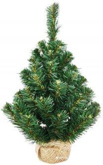 Искусственная елка Новогодько (YES! Fun) 0.60 м Таежная плетенная Зеленая ПВХ (4820073390152)