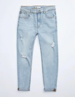Джинси Zara Ж1049768 (8235/360/406) колір блакитний 30