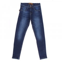 Штани джинсові для хлопчика A-YUGI 4902 170 см синій (409978)