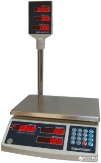 Весы торговые ІКС ICS 30NT со стойкой 30 кг