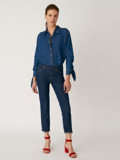 Джинси MiH Jeans ASA030920-1 30 in (8372930in) Синій
