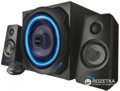 Акустическая система Trust GXT 628 2.1 Illuminated Speaker Set Limited Edition Black (TR20562)