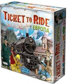 Настольная игра Hobby World Ticket to Ride: билет на поезд Европа (4620011810328)