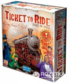 Настольная игра Hobby World Ticket to Ride: Америка (4620011815309)