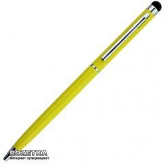 Стилус Value с шариковой ручкой для емкостных экранов Желтый (S0536)