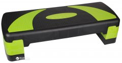 Степ-платформа LiveUp Power Step 78x30x10 см Green-Black (LS3168B)