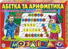 Мозаика ТехноК Азбука и арифметика на украинском (2223)