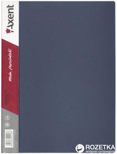 Папка пластиковая Axent А4 40 файлов Серая (1040-03-А)