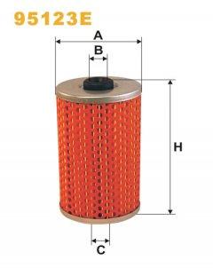 Фильтр топливный WIX 95123E - FN PM805