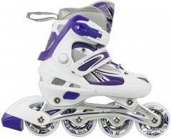 Роликовые коньки MAXCITY Illusion Combo размер 35-38 Violet (Illusion Combo Violet р. 35-38)