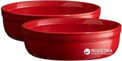 Набор форм для крем-брюле Emile Henry HR Oven ceramic Ovenware из 2 шт Красный (344013)