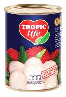 Личи в сиропе Tropic Life 580 мл (4820086921879 / 5060162900650)