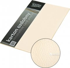 Набор дизайнерской бумаги Galeria Papieru Borneo - Kremowy 220 г/м² А4 20 листов (5903069984708)