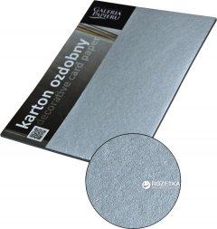 Набор дизайнерской бумаги Galeria Papieru Millenium - Srebrny 220 г/м² А4 20 листов (5903069009395)